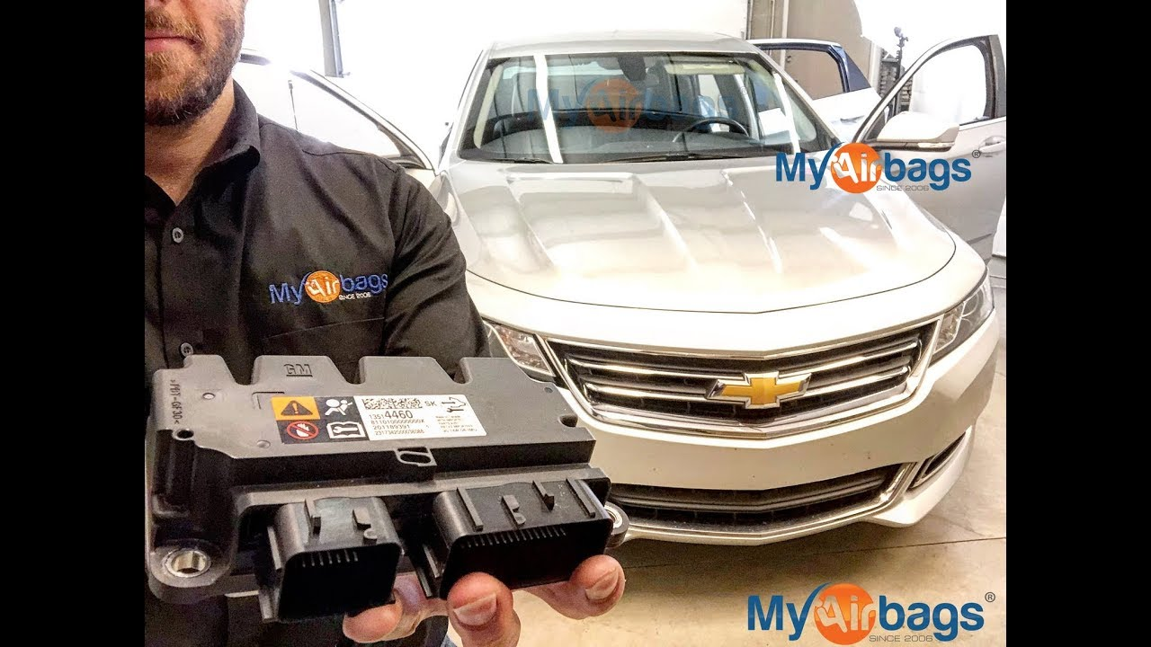 Chevy Impala Airbag Sdm Module Location B0051 Reset Myairbags