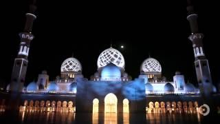 Светящаяся мечеть шейха Зайда в Абу Даби  День ОАЭ online video cutter com)(, 2013-10-16T15:19:18.000Z)