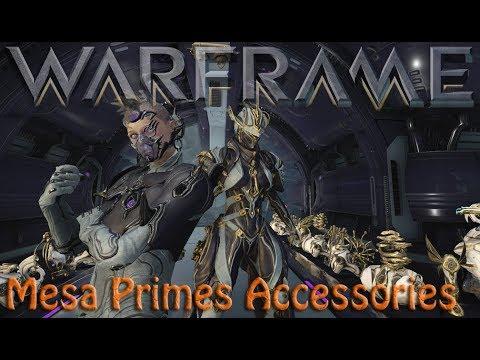 Warframe - Mesa Primes Accessories thumbnail
