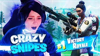 CRAZY SNIPES IN THE SCAVENGER POP-UP CUP! w/ Svennoss (Fortnite: Battle Royale)