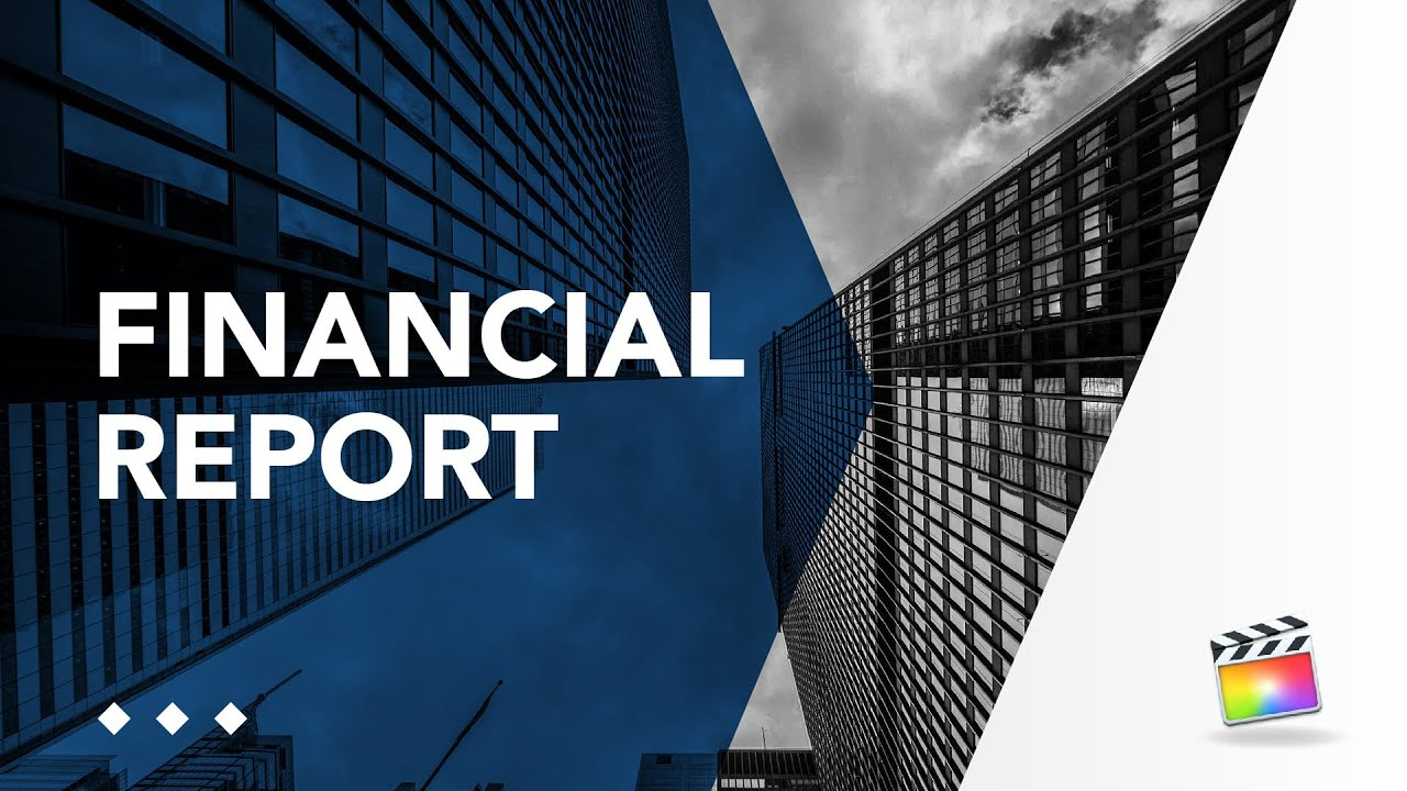 Corporate Essential Graphics for FCPX Financial Report