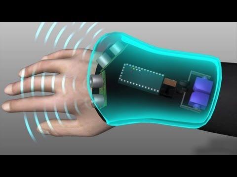 Wrist-mounted glove helps blind navigate