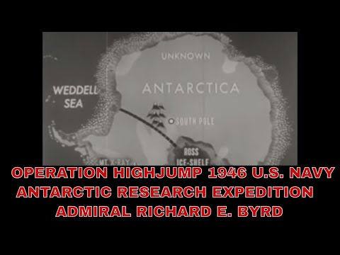 OPERATION HIGHJUMP  1946 U.S. NAVY ANTARCTIC RESEARCH EXPEDITION   ADMIRAL RICHARD E. BYRD 83274