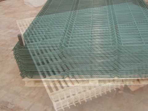 Anping Factory Powder Coated Wire Mesh Fence Panel-salse3@china-metal-fence.com
