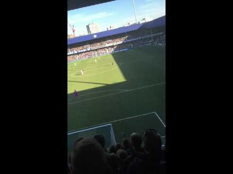 Tottenham fans at QPR 7/3/15