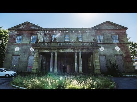 ABANDONED MANSION WHERE A CHILD FELL TO HER DEATH
