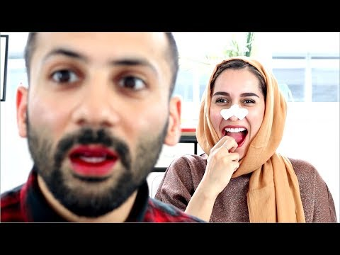 Permanent Makeup Prank On Husband (Korean Makeup Reaction)