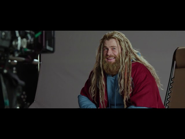 Avengers Endgame Behind The Scenes Clip Shows Chris