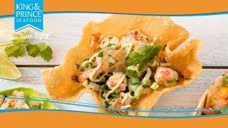 Lobster Poke Tacos