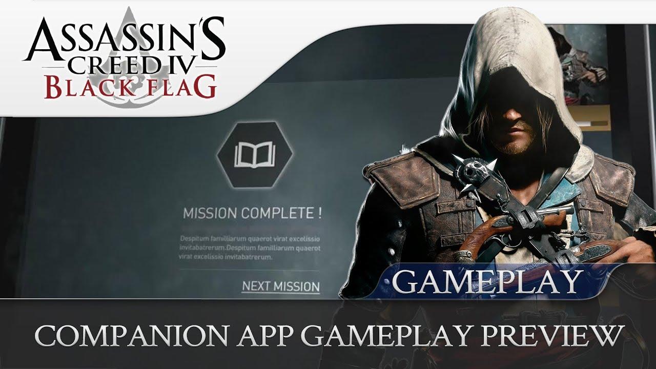 Assassin&#39-s Creed IV Black Flag - Companion App Explained - UbiBlog ...