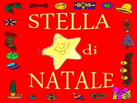Canzone Di Natale Stella Cometa Testo.Stella Di Natale Canzoni Di Natale Per Bambini Di Pietro Diambrini
