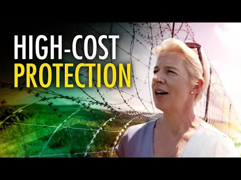 Katie Hopkins in South Africa: Security comes at a high price
