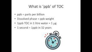 Tony Harrison - Choosing the right Total Organic Carbon analyzer for pharmaceutical QC laboratory ap