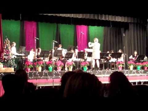 Roselle Park High School Concert Band- Holidays Concert 12-18-14- Jazzy Holiday