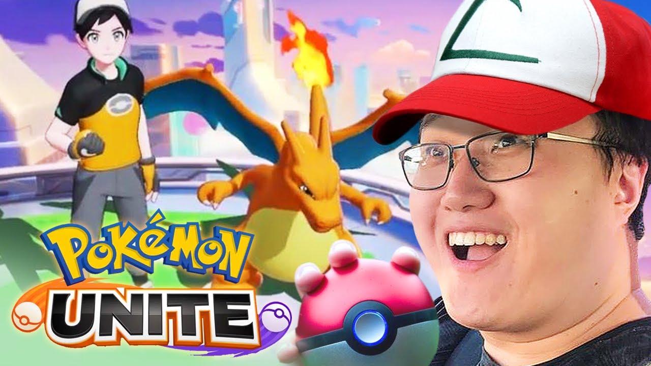 JEFF JOGANDO POKELOL! O MOBA DE POKÉMON! - Pokémon Unite