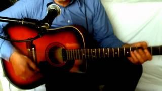 Du entschuldige i kenn di Peter Cornelius Cover Interpretation Akustikgitarre Framus Texan