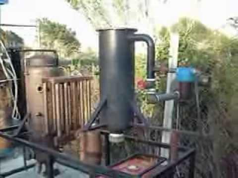 Impianto di gassificazione da 20 kw per produzione energia elettrica e riscaldamento youtube - Stufe fai da te ...