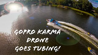 GoPro Karma Drone Goes Tubing On The Lake!