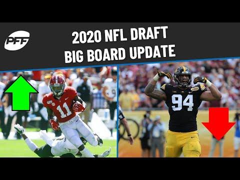 2020 NFL Draft - Big Board Update | PFF