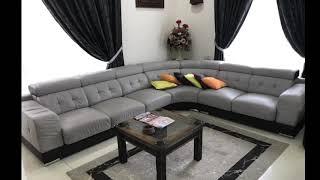 Upholstery for U-Shape Sofa [Meiko Upholstery Specialist] Penang Malaysia