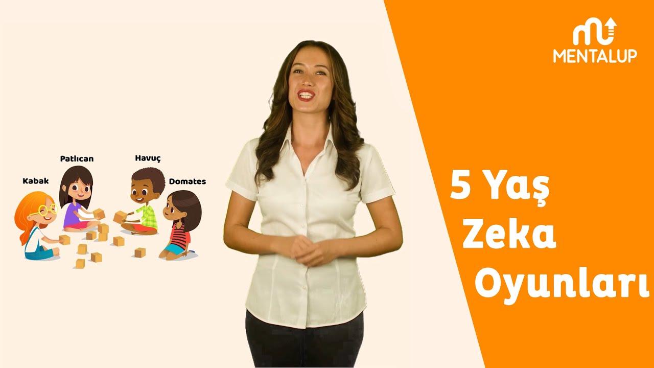 5 Yas Zeka Oyunlari Okul Oncesi Oyunlari Etkinlik Onerileri
