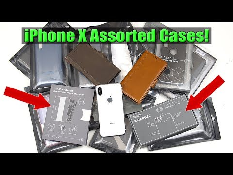 Best/Top iPhone X Cases You Must Have! (iPulse, Encased & Olixar) [4K] 21:9