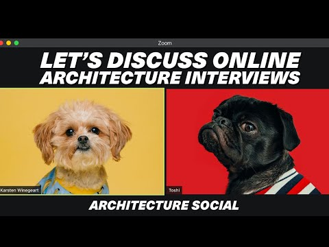 Let's discuss how to ace Architecture Interviews online
