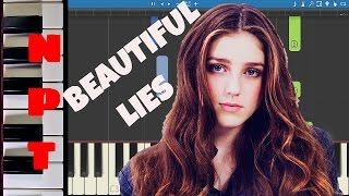 Birdy - Beautiful Lies - Piano Tutorial