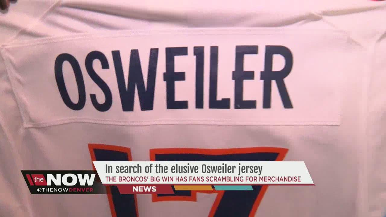 osweiler jersey