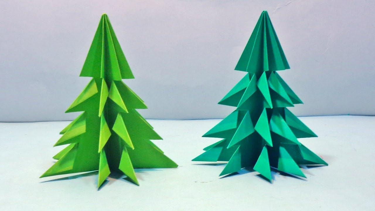 how to make easy christmas tree