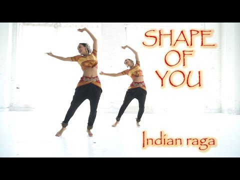Shape of You (Indian Raga) dance choreography | Poonam and Priyanka