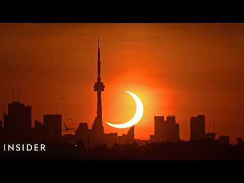 Stunning 'Ring Of Fire' Solar Eclipse Lights Up The Sky Across The World
