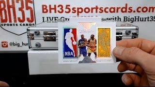 2015/16 Panini Flawless Basketball 2 Box Case Break #2
