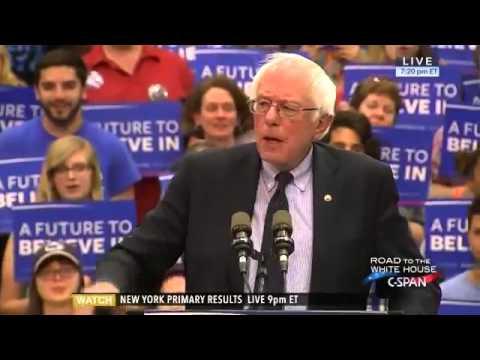 Bernie Sanders Campaign Rally University Park Pennsylvania