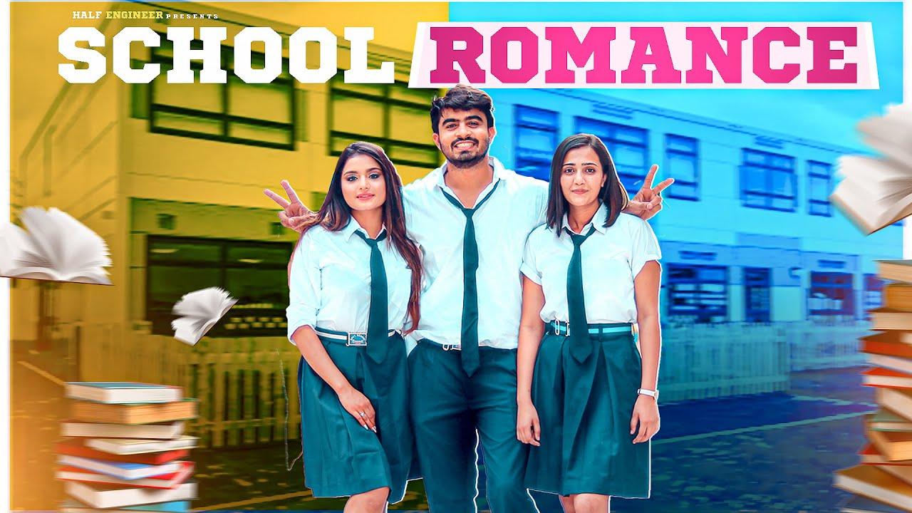 School Romance | The Love Triangle || Half Engineer