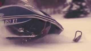 Riding Vintage Snowmobiles