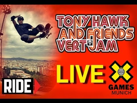 LIVE Tony Hawk & Friends Skate Demo: X Games Munich