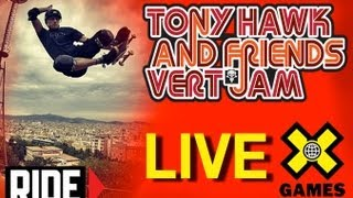 LIVE Tony Hawk & Friends Skate Demo: X Games Munich