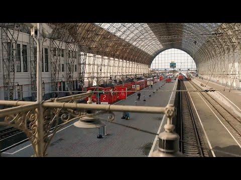 Внутри Киевского вокзала на Inspire 1
