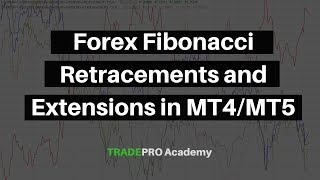 Forex Fibonacci Retracements and Extensions in MT4/MT5