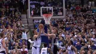 NBA: Dirk Nowitzki Pulls Down His 10,000th Career Rebound