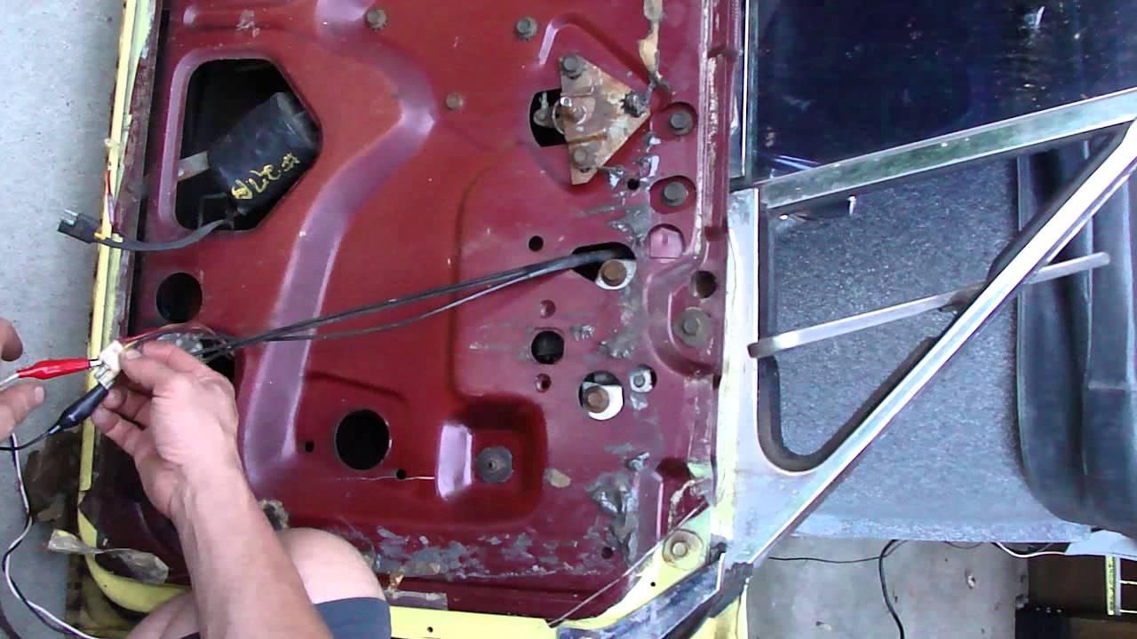 1966 Thunderbird T-Bird driver side power vent window ...