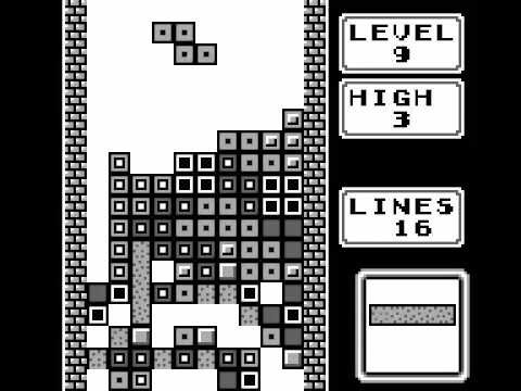 Game Boy Longplay 157 Tetris
