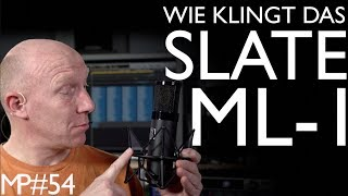 Wie klingen Vocals mit dem Slate VMS ML-1 ? | Abmischen Tutorial Deutsch | Recording-Blog #54