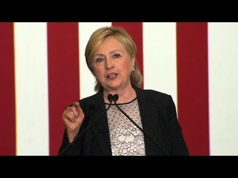 Hillary Clinton full economy speech (entire speech)