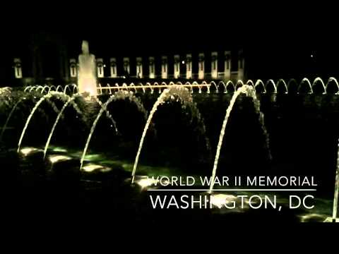 World War II Memorial Fountain - Washington, DC