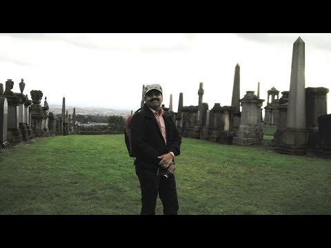 T N suresh kumar -The Great Indian Traveler in Glasgow,Scotland