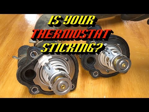 Ford 2.0L 2.3L 2.5L Engines P0125 P0128 Insufficient Coolant Temp: Thermostat Housing Replacement