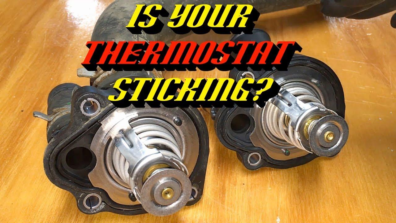 ford 2 0l 2 3l 2 5l engines p0125 p0128 insufficient coolant temp thermostat housing replacement [ 1280 x 720 Pixel ]