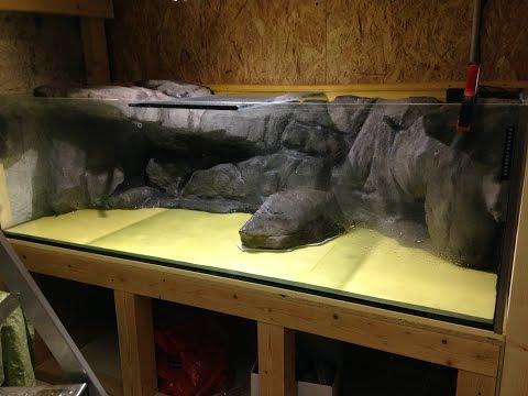 3d aquarium hintergrund zum selber bauen diy backgroun doovi - Aquarium ruckwand selber bauen anleitung ...